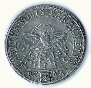obverse: ROMA - Sede vacante 1676 - Scudo
