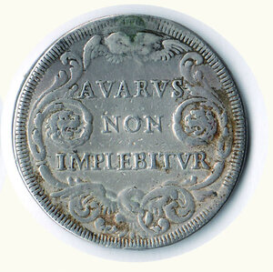 reverse: ROMA - Innocenzo XI - ½ Piastra