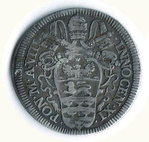 obverse: ROMA - Innocenzo XI (1676-1689) - Giulio - A. VIII.