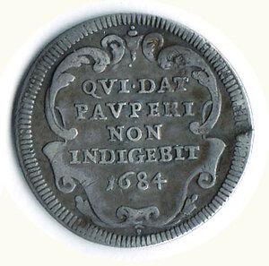 reverse: ROMA - Innocenzo XI (1676-1689) - Giulio - A. VIII.