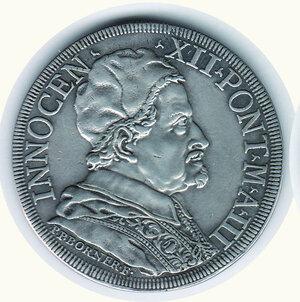 obverse: ROMA Innocenzo XII - Piastra 1693