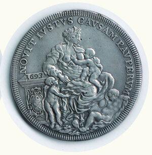 reverse: ROMA Innocenzo XII - Piastra 1693