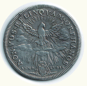 reverse: ROMA Sede Vacante 1700 - Piastra