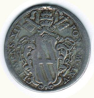 obverse: ROMA - Clemente XII  (1730-1740) .  ½ Piastra