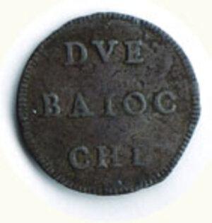 obverse: ROMA - Benedetto XIV - Muraiola da 2 Baiocchi.