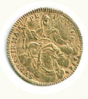 reverse: ROMA - Clemente XIII (1758-1769) - Zecchino - A. VI.
