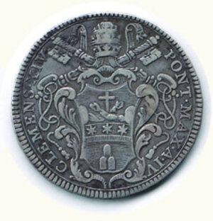 reverse: ROMA - Clemente XIV- 1/1 Piastra 1773 - A. IV.