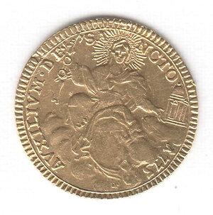 obverse: ROMA - Pio VI - Zecchino 1775
