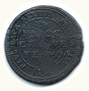 reverse: FERMO Pio VI - 5 Baiocchi 1797