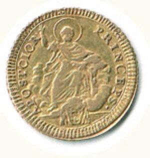 reverse: ROMA - Pio VI (1775-1799) - Doppia 1786.
