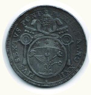 obverse: ROMA - Pio VI - 60 Baiocchi 1797.