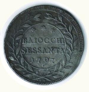 reverse: ROMA - Pio VI - 60 Baiocchi 1797.