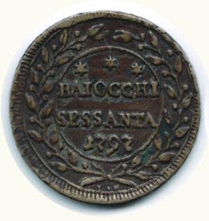obverse: ROMA - Pio VI (1775-1799) - 60 Baiocchi 1797