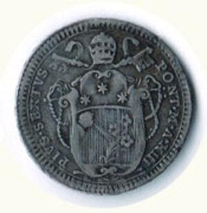 reverse: ROMA - Pio VI - Doppio Giulio 1787 - A. XIII.