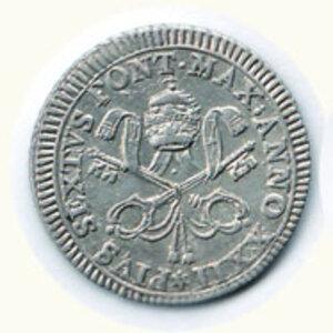 obverse: ROMA - Pio VI - Due Carlini romani 1796