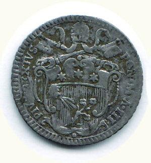 obverse: ROMA - Pio VI - Carlino 1777.