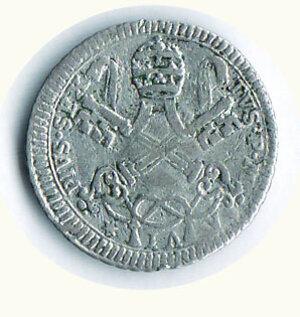 reverse: ROMA - Pio VI - Carlino romano 1780.