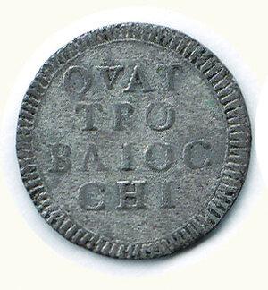 obverse: ROMA - Pio VI - 4 Baiocchi 1793