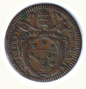 obverse: ROMA - Pio VI - Baiocco SD - A. IX.