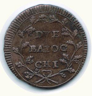 reverse: ANCONA - II Repubblica Romana - 2 Baiocchi
