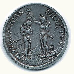 reverse: FIRENZE - Cosimo III - Piastra 1676