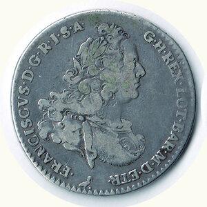 obverse: FIRENZE - Francesco di Lorena - Francescone 1770.