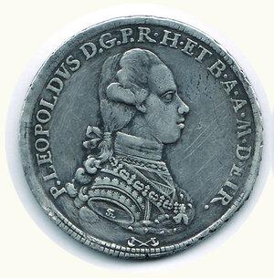 obverse: FIRENZE - Pietro Leopoldo - Francescone 1770