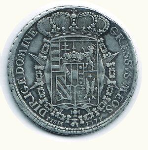 reverse: FIRENZE - Pietro Leopoldo - Francescone 1770