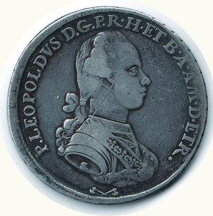 obverse: FIRENZE Pietro Leopoldo - Francescone 1777