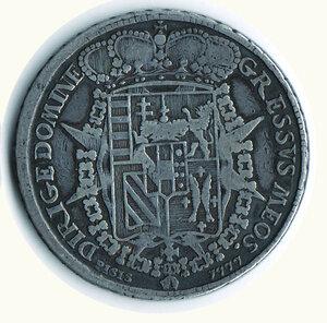 reverse: FIRENZE Pietro Leopoldo - Francescone 1777
