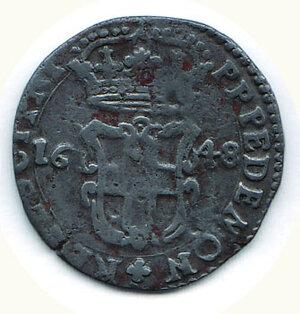 reverse: SAVOIA Carlo Emanuele II 5 Soldi Torino