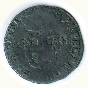 obverse: SAVOIA - Carlo Emanuele II - Reggenza 5 Soldi 1648