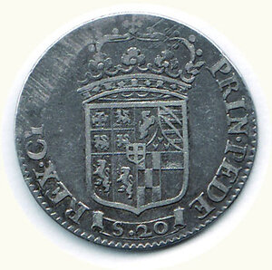 reverse: SAVOIA - Carlo Emanuele II - Lira nuova 1675 - MIR 816.