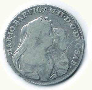 obverse: SAVOIA - Vittorioorio Amedeo II - Reggenza della madre - Lira 1677