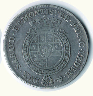 reverse: SAVOIA Carlo Emanuele III Scudo da 6 lire 1756