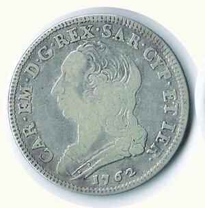 obverse: SAVOIA - Carlo Emanuel III - ¼ di Scudo 1762.