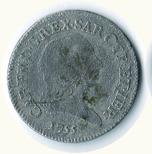 obverse: SAVOIA - Carlo Emanuele III - 7,6 Soldi 1755