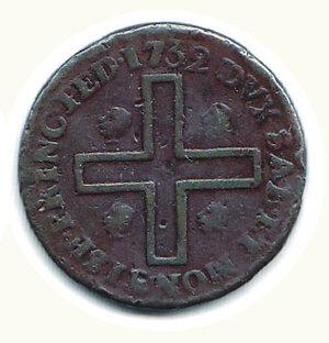 reverse: SAVOIA - Carlo Emanuele III - 3 Cagliaresi 1732