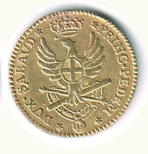 reverse: SAVOIA - Vittorio Amedeo III - Doppia 1786.