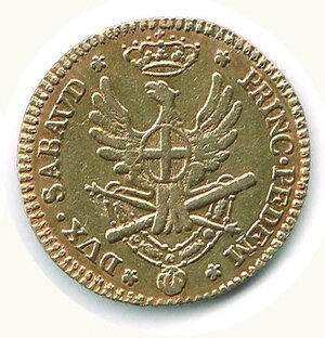 reverse: SAVOIA - Vittorio Amedeo III - Doppia 1790