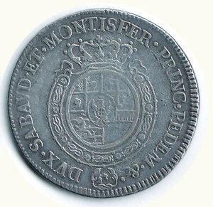 reverse: SAVOIA Vittorio Emanuele III Mezzo Scudo 1792