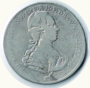 obverse: FIRENZE Pietro Leopoldo Francescone 1790