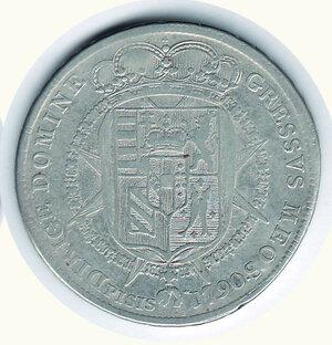 reverse: FIRENZE Pietro Leopoldo Francescone 1790
