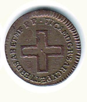 reverse: SAVOIA - Vittorio Amedeo III - 2 Denari 1787.