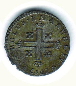 reverse: SAVOIA Carlo Emanuele IV - Soldo 1797