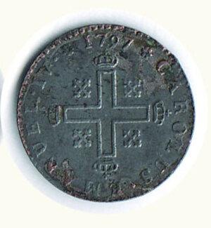 reverse: SAVOIA - Carlo Emanuele IV (1796-1800) - Soldo 1797