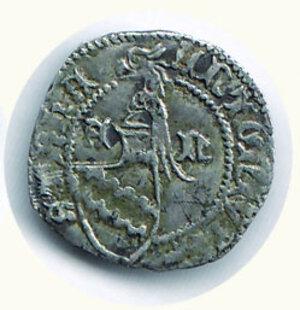 reverse: AQUILEIA - Antonio I Caetani (1395-1402) - Denaro