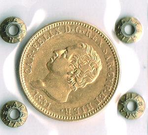 obverse: SAVOIA - Carlo Felice - 40 Lire 1831 To