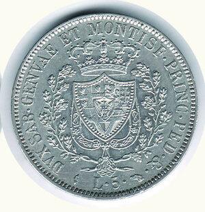 reverse: SAVOIA - Carlo Felice - 5 Lire 1829 To.
