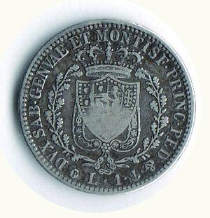 reverse: CARLO FELICE lira 1825